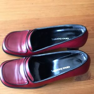 Red shoes vintage 36